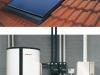 Weishaupt Thermo Solar WTS-F1 (Indach) mit dem Gas-Brennwertgerät WTC-A und dem Energiespeicher WES 910  - Abb.: MaxWeishaupt GmbH