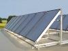 Beispiel einer Flachdach-Solaranlage Weishaupt Thermo Solar Typ K3/K4 mit integrierter Sammmelleitung - Abb.: MaxWeishaupt GmbH