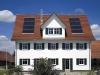 Beispiel einer dachintegrierten Solaranlage Weishaupt Thermo Solar WTS-F1 - Abb.: Max Weishaupt GmbH