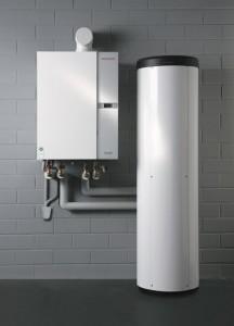 Das Öl-Brennwertgerät Weishaupt Thermo Condens WTC-OW verfügt über eine modulierende Leistung von 5,5 bis 15 Kilowatt von Weishaupt - Abb.: Max Weishaupt GmbH